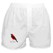 scarlet tanager Boxer Shorts