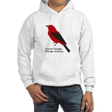 scarlet tanager Hoodie