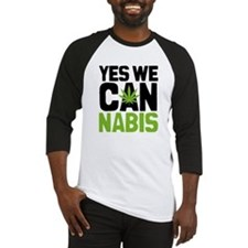 Yes We Can Baseball Jersey