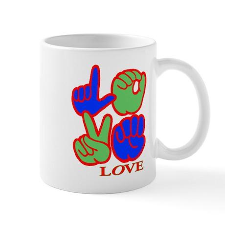 Square F.S. LOVE Mug