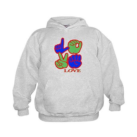 Square F.S. LOVE Kids Hoodie