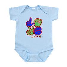 Square F.S. LOVE Infant Bodysuit