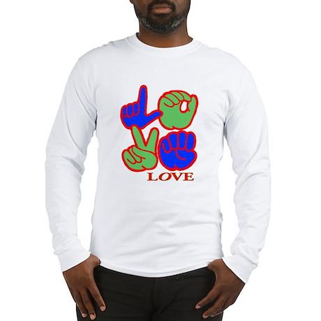 Square F.S. LOVE Long Sleeve T-Shirt