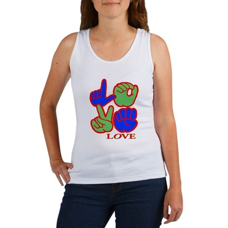 Square F.S. LOVE Women's Tank Top