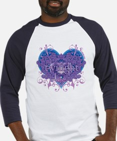 Twilight Eclipse Purple Heart Baseball Jersey