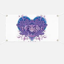 Twilight Eclipse Purple Heart Banner
