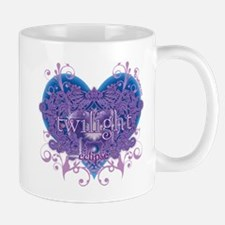 Twilight Eclipse Purple Heart Mug