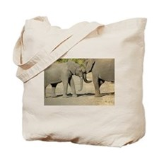Loving Elephants Tote Bag