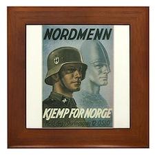 """""""Nordmenn"""" Framed Tile"""
