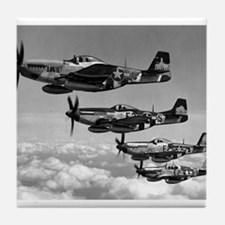 P-51 Formation Tile Coaster