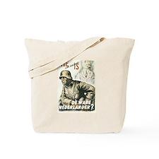 """""""Nederlander"""" Tote Bag"""