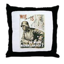 """Nederlander"" Throw Pillow"