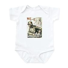 """""""Nederlander"""" Infant Bodysuit"""