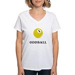 Oddball Women's V-Neck T-Shirt