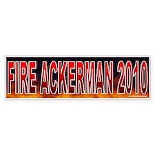 Fire Gary Ackerman! (sticker)