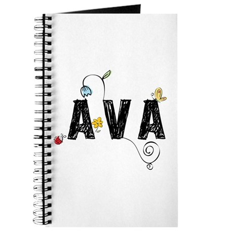 Ava Floral Journal