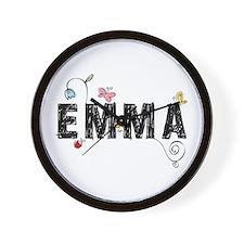 Floral Emma Wall Clock