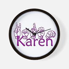 Karen-ppl Wall Clock