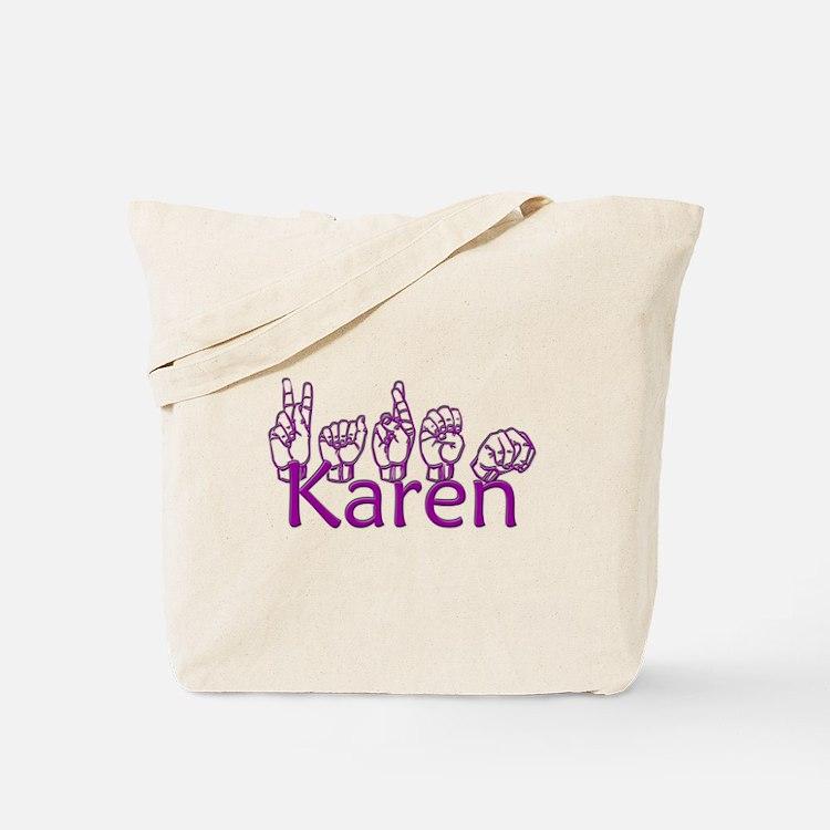 Karen-ppl Tote Bag