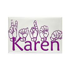 Karen-ppl Rectangle Magnet (100 pack)