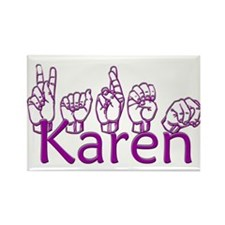 Karen-ppl Rectangle Magnet