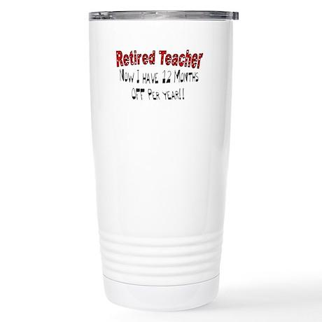 More Retirement Stainless Steel Travel Mug