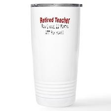 More Retirement Travel Coffee Mug