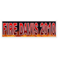 Fire Lincoln Davis! (sticker)