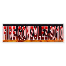Fire Charlie Gonzalez! (sticker)