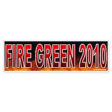 Fire Al/Gene Green! (sticker)