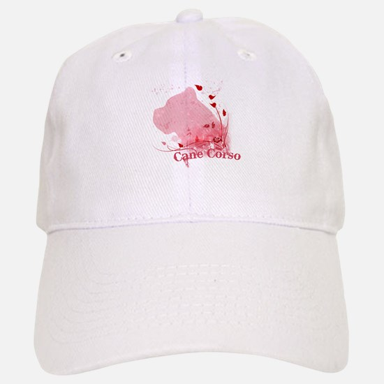 Cane Corso Pink Baseball Baseball Cap