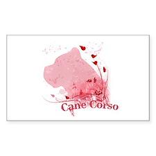 Cane Corso Pink Decal