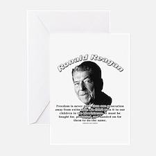 Ronald Reagan 02 Greeting Cards (Pk of 10)