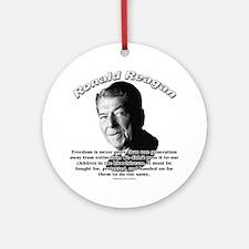 Ronald Reagan 02 Ornament (Round)