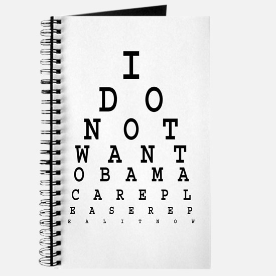 Obamacare eye test. Journal