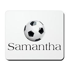 Samantha Soccer Mousepad