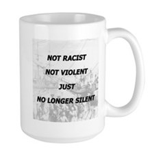 No longer silent. Mug