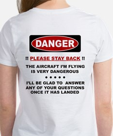RC Helicopter Safety Women's T-Shirt