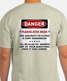 RC Helicopter Safety T-Shirt
