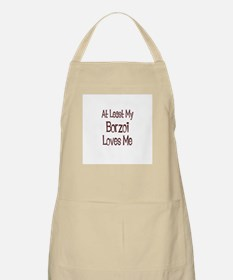 At Least My Borzoi Loves Me BBQ Apron