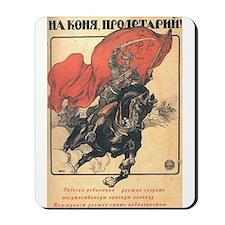 """Red Horseman"" Mousepad"