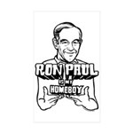 Ron Paul Is My Homeboy Sticker (Rectangle 50 pk)
