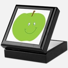 Happy Green Apple Keepsake Box