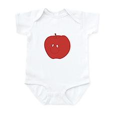 Happy Red Apple Infant Bodysuit
