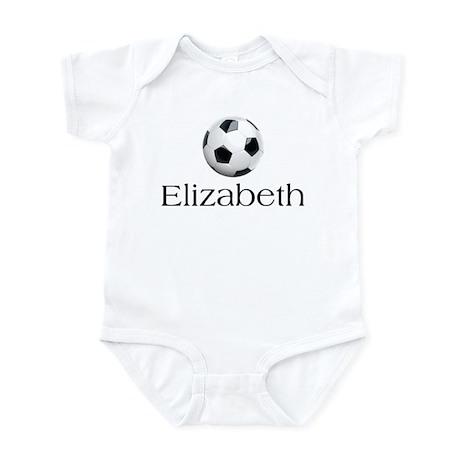Elizabeth Soccer Infant Bodysuit