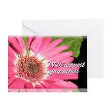 Gerber Daisy Sympathy Card 5x7