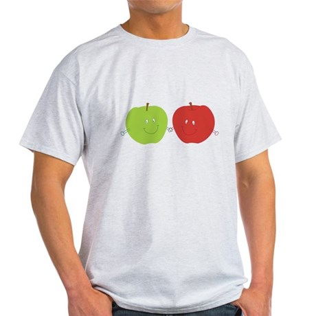 Two Happy Apples Light T-Shirt