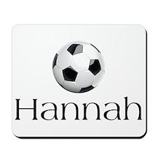 Hannah Soccer Mousepad