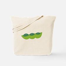 Happy peas Tote Bag