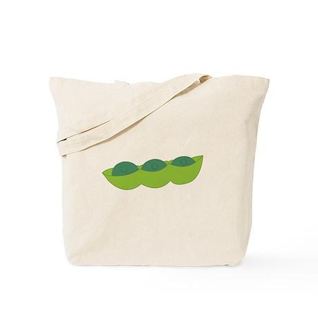 Sleepy Peas Tote Bag